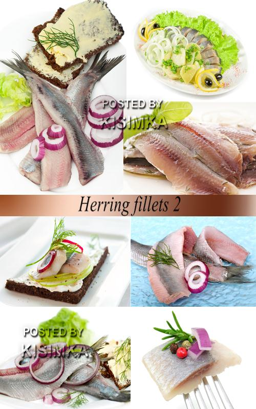 Stock Photo: Herring fillets 2