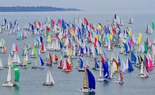 JBoats sailing Tour de Belle Ile, France