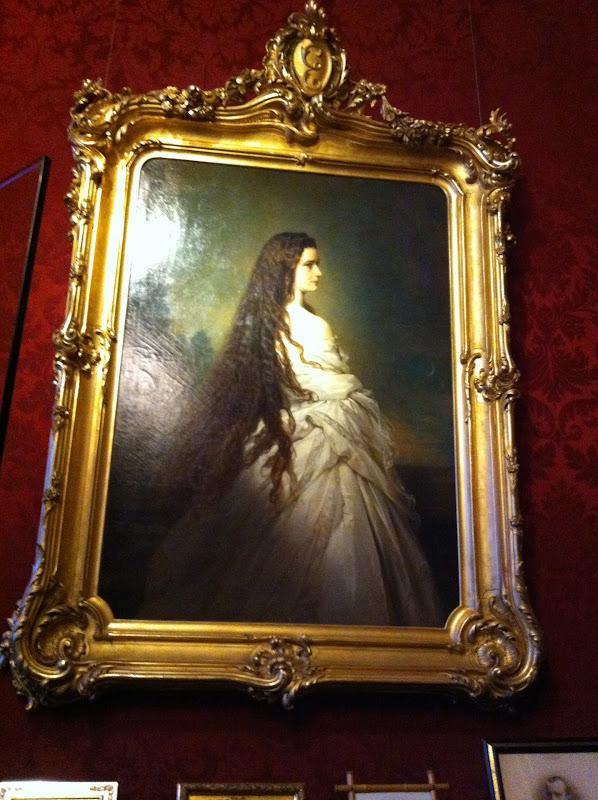 Sissi Emperatriz pintura