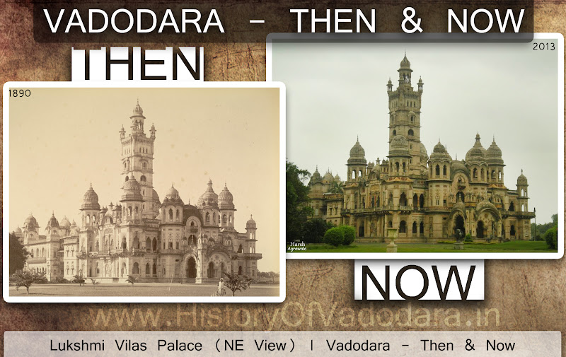 Luskhmi Villas Palace - Then & Now