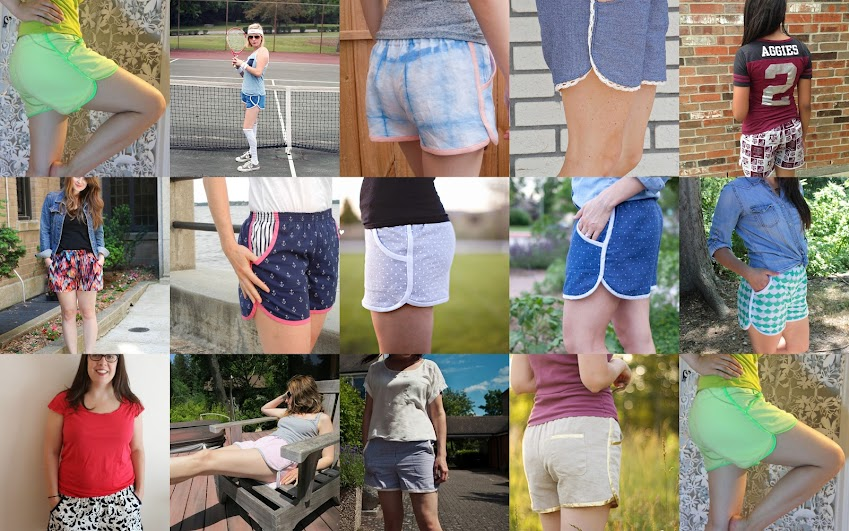 Prefontaine Shorts for Women from the Pattern Parcel #3 Inspiration Tour || Pattern by Made with Moxie
