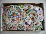 5.000 sellos mundiales variados  50 €;