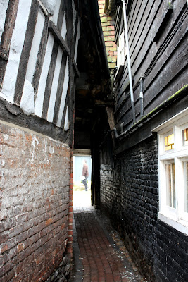 Narrow Passage in Rye