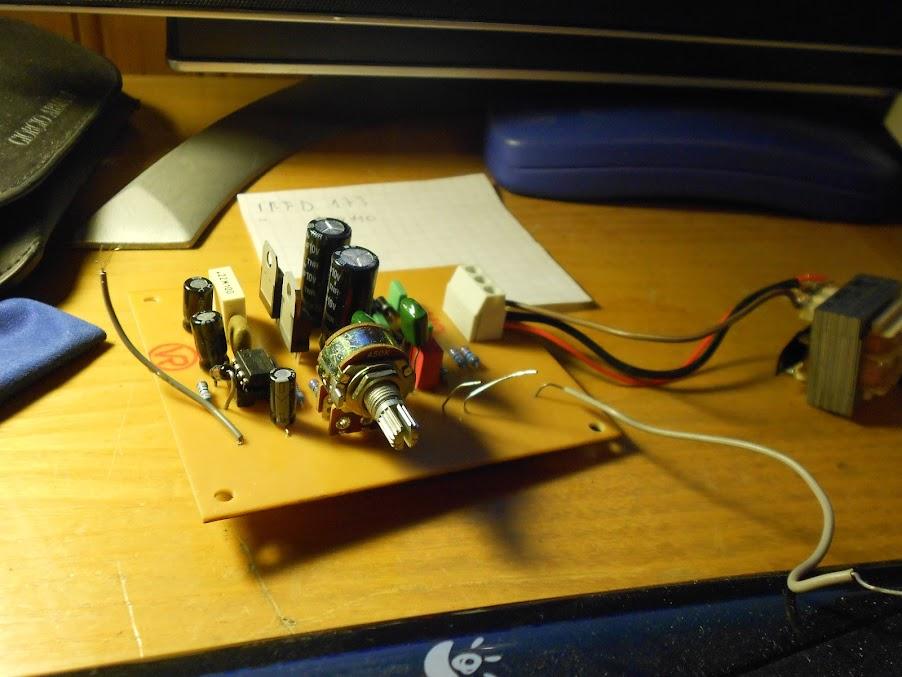LM3875 LM3886 , The new Power Amplifier ByManu; L'Overture DSCN0666