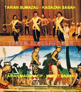 Tarian Sumazau, Tarian Magunatip - Murut Sabah