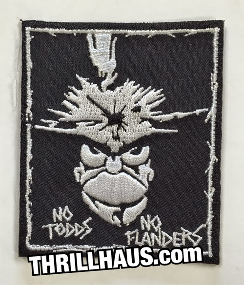 COOL TO BE STU EMBROIDERED IRON-ON PATCH THRILLHAUS