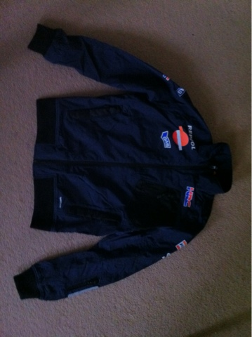 Welcome to my Repsol Fanatic Blog  New 2012 Repsol Team Honda jacket