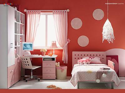 polkadots Polka Dots in a Teen or Tween Bedroom 10
