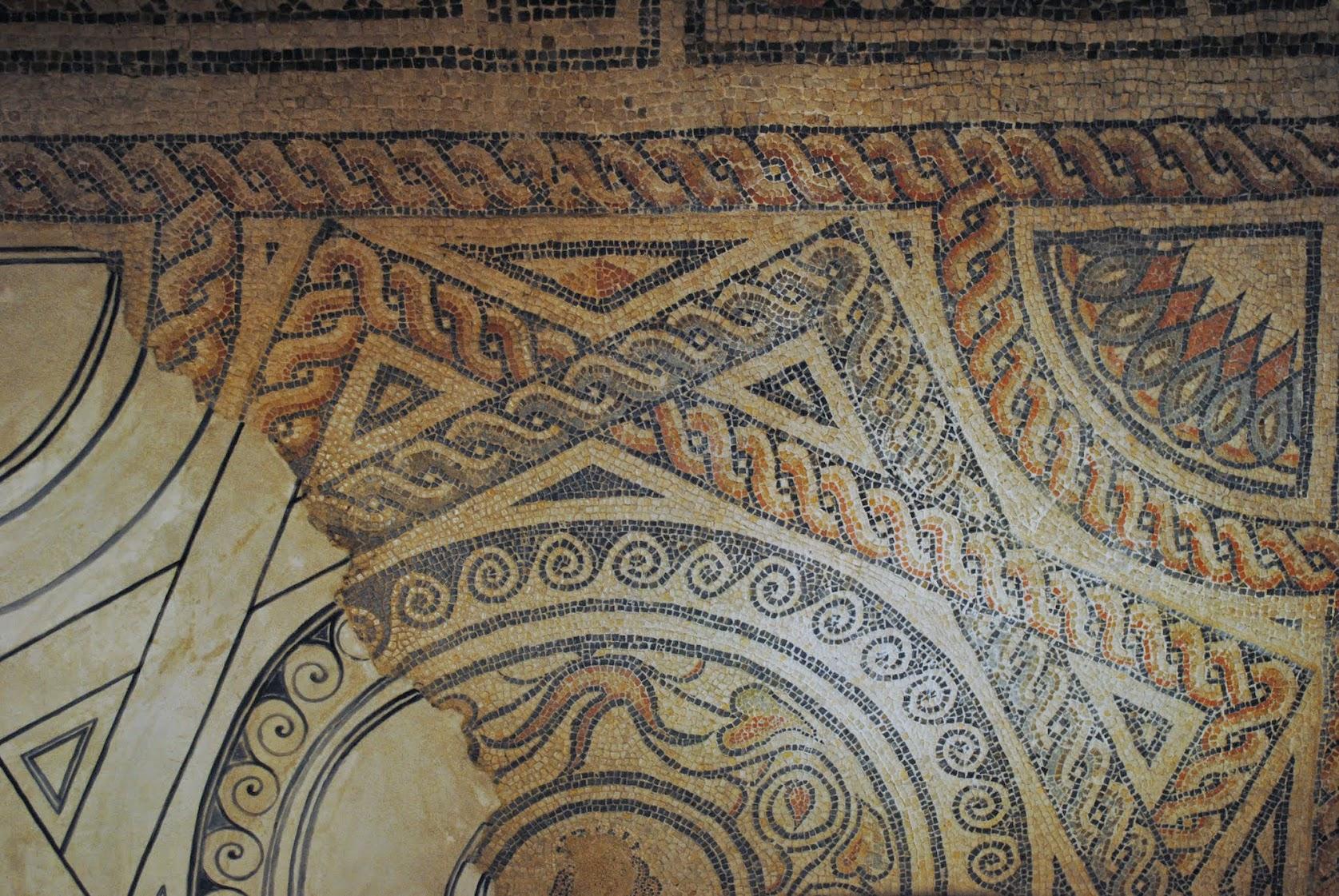 My Photos: England -- Mosaics -- Cirencester -- Corinium Museum -- Venus Mosaic