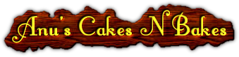 Anu's Cakes and Bakes