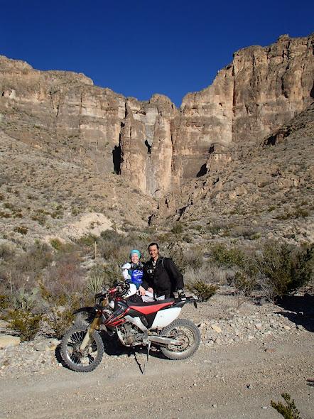 Big Bend National Park Old Ore Road Impressive Geological Formations