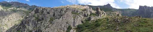 Au sommet de la butte de Furmicuccia, dans la direction des bergeries de Viudoni
