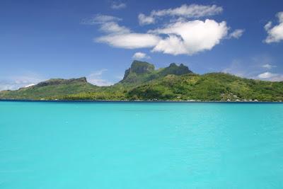 Sanjska laguna otoka Bora Bora