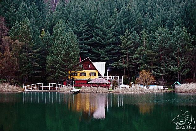 cabana privata lacul gura golumbului