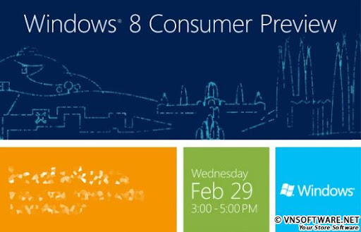Windows 8 Consumer Preview 32 bit 64 bit - Phiên bản  Windows 8 Consumer Preview
