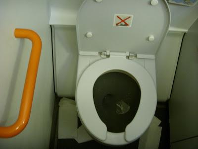 EasyJetのトイレ