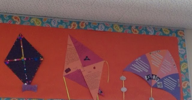 Making A Kite With The Themes And Symbolism Of Kite Runner A Novel