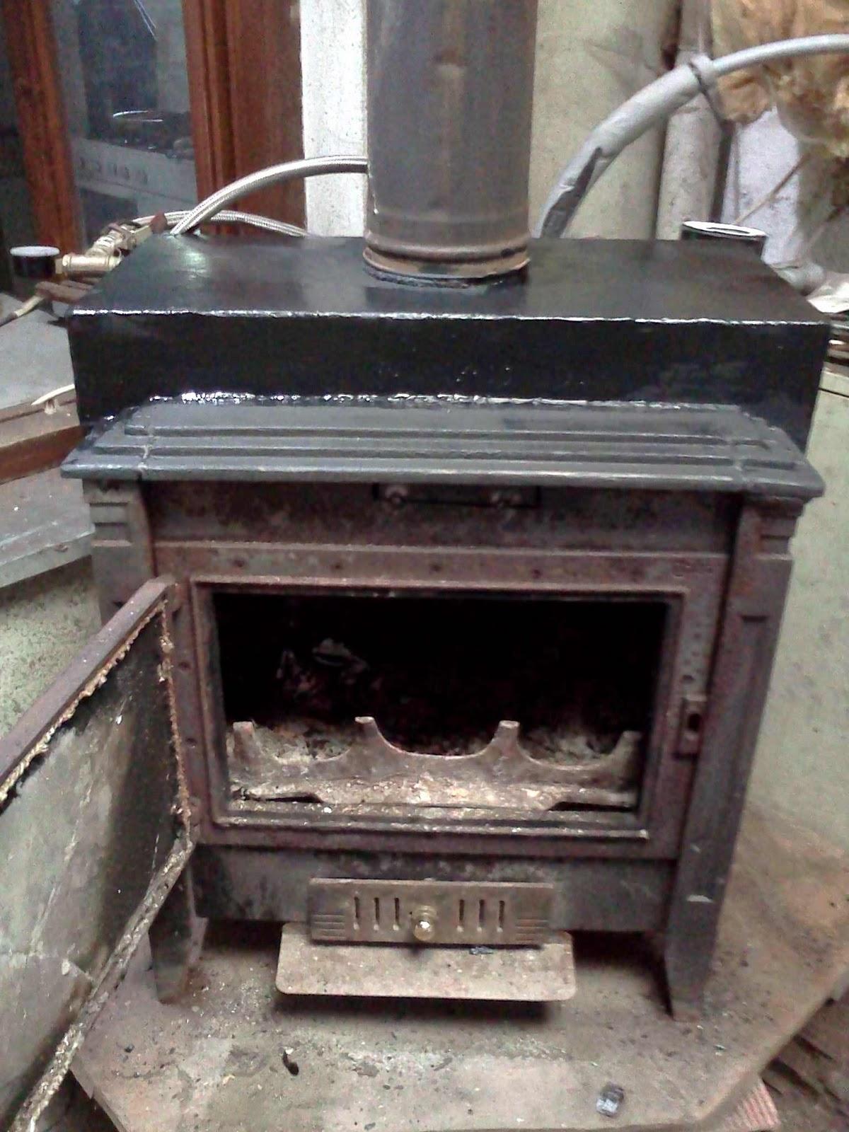 Tecnolog a para un progreso sostenible caldera de biomasa - Estufa de lena para radiadores ...