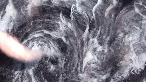Whirlpool off Greenland Coast, May 14, 2001.jpg