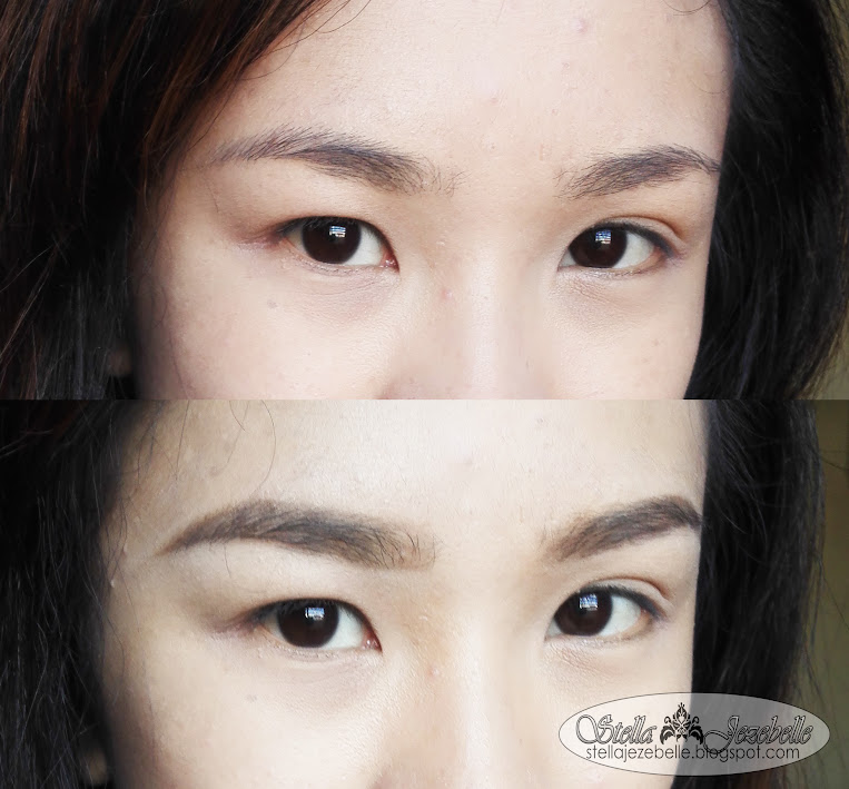 Etude House, Korean makeup, makeup artist, beauty blogger, phnom penh, cambodia, wasado, before and after, brow transformation, makeup transformation, power of makeup