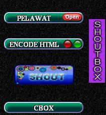 shoutbox tersembunyi