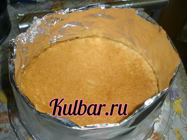 торт с маскарпоне кольцо из фольги для торта