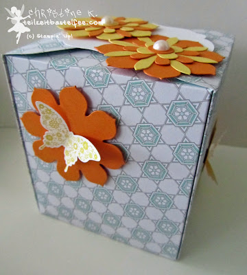 stampin up, inkspire_me #143, envelope punch board, papillon potpourri, eiszauber, bigz blüten, blossom party