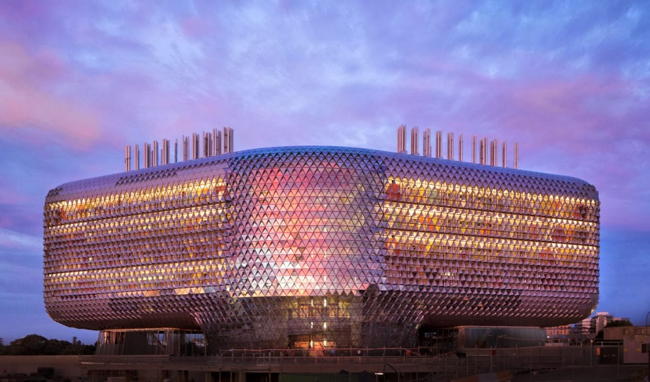 Adelaide Australia Meridionale, Australia: Sahmri Research Institute by Woods Bagot