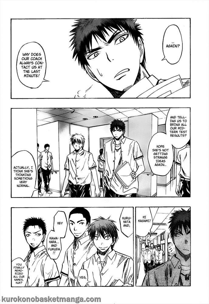 Kuroko no Basket Manga Chapter 37 - Image 04