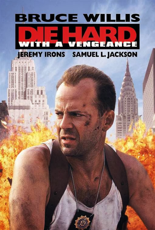 Poster Of Die Hard: With a Vengeance (1995) Full Movie Hindi Dubbed Free Download Watch Online At Alldownloads4u.Com