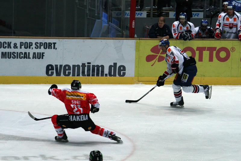 Die Slowakei kommt besser ins Spiel. Die Schweiz kann den Ausgleich aber noch verhindern.
