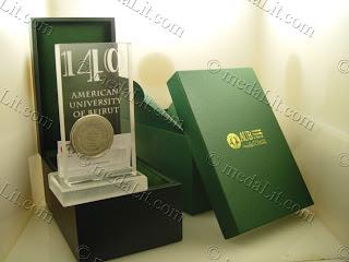 American Universirt of Beirut - AUB Memorabilia - www.medalit.com