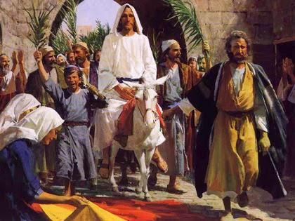 Иисус въезжает в Иерусалим. Экскурсия по Иерусалиму.