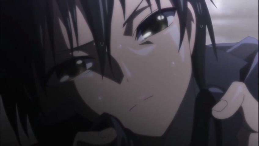 Anime chico triste - Imagui