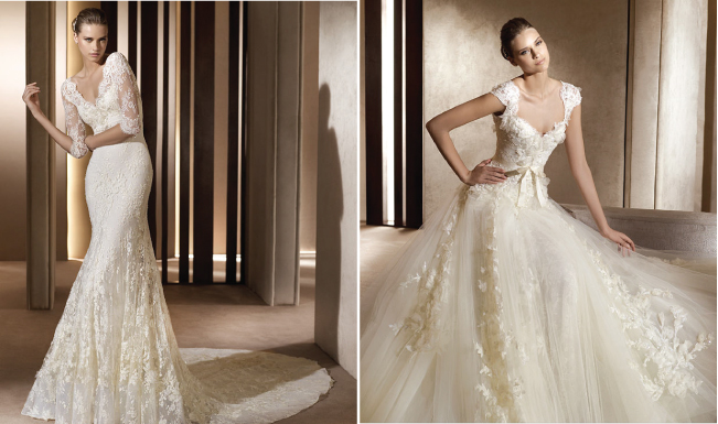 Non Strapless Wedding Dresses