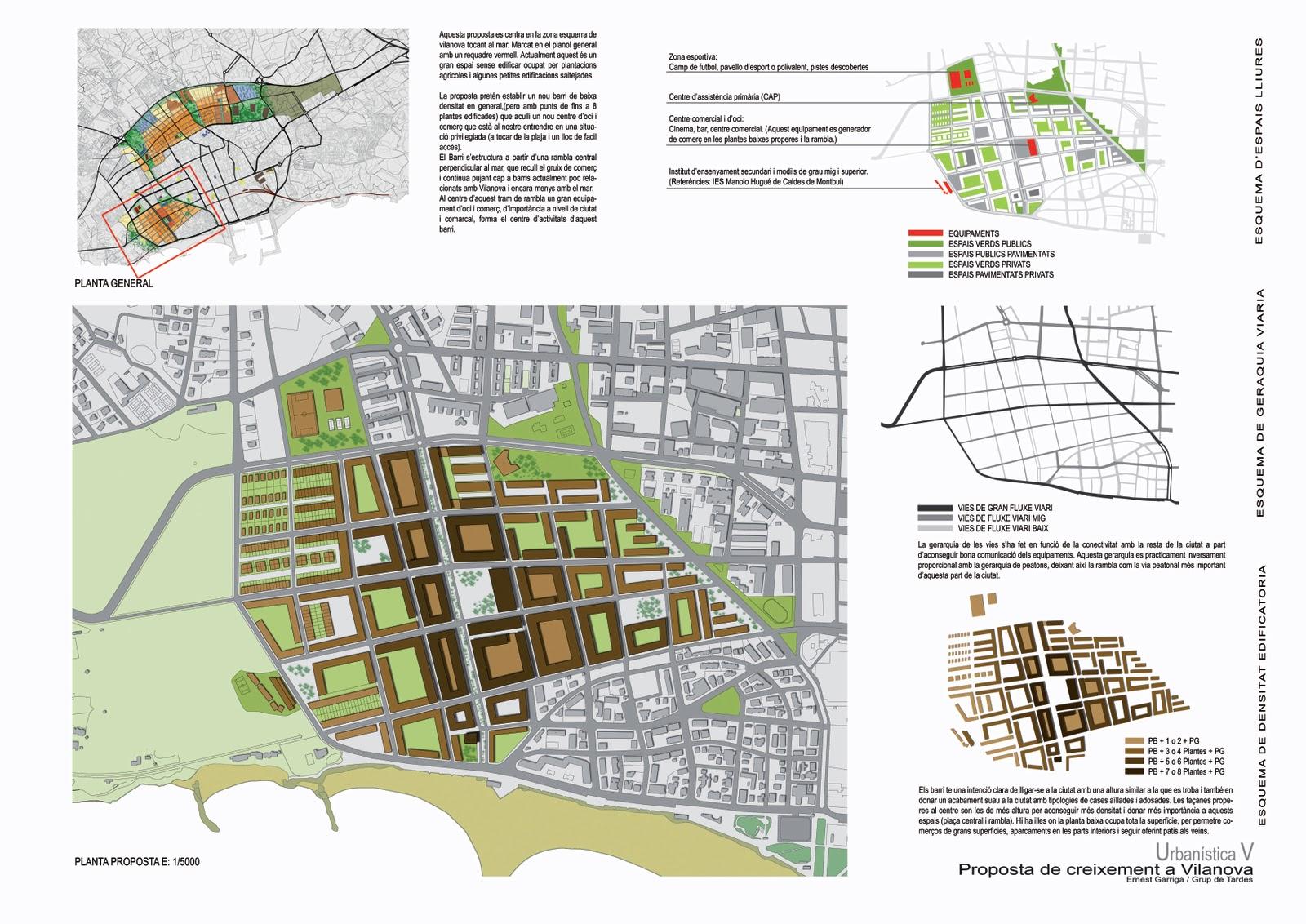 Ernest Garriga Arquitectura Y Urbanismo Plan Crecimiento