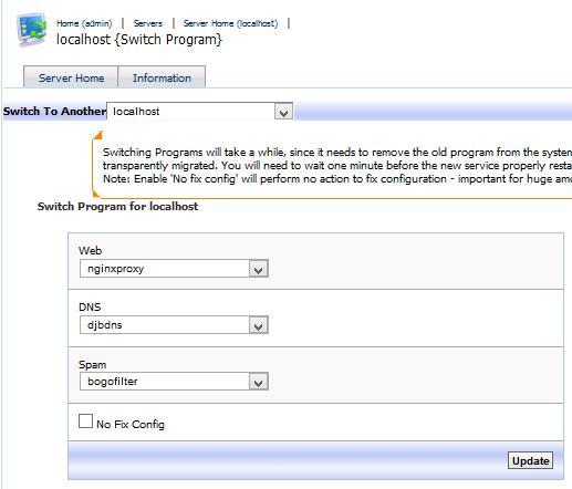 Kloxo MR dengan nginx proxy php fpm Lebih Mudah dan Cepat