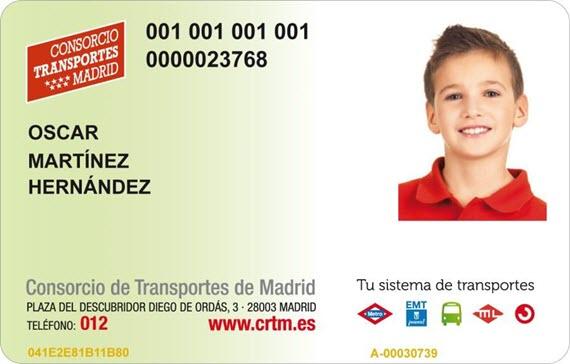 Cómo conseguir la Tarjeta de Transporte Público Infantil
