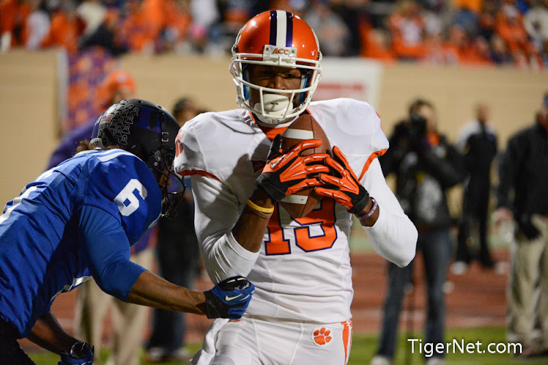Clemson at Duke (Second Half) Photos - 2012, Charone Peake, Duke, Football