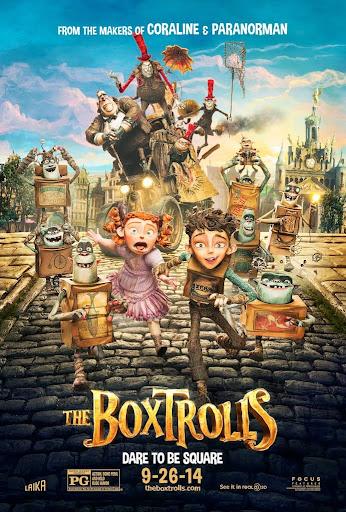 Τα Τερατοκουτάκια (The Boxtrolls) Poster