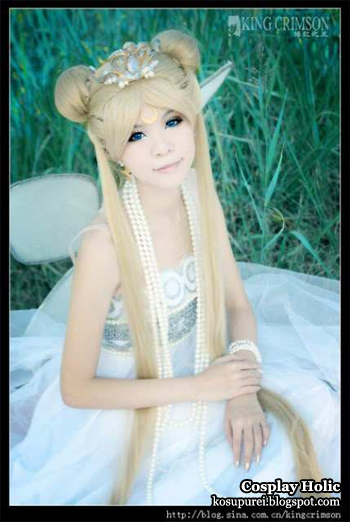 sailor moon cosplay - neo-queen serenity by king crimson