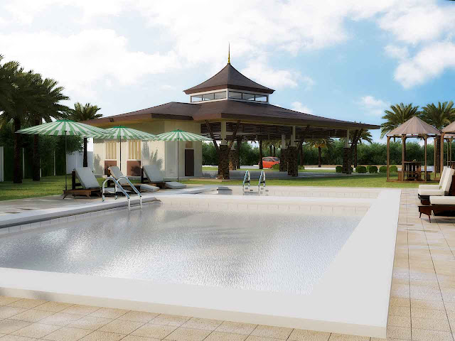 Twin Palms Residences Swimming Pool