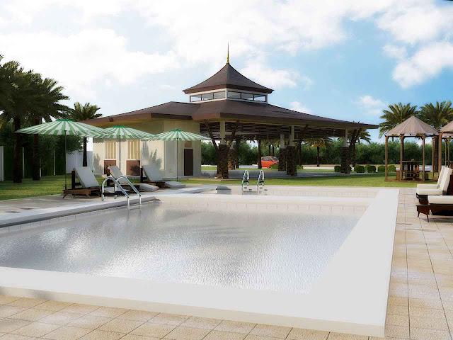 Twin Palms Residences Swimming Pool