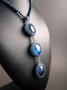 Blue Bezel Pendant