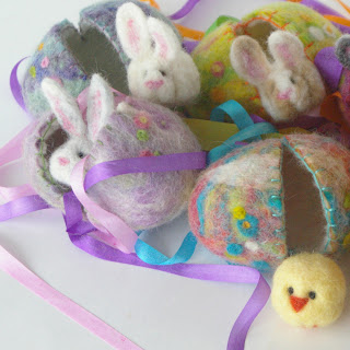bunny, easter, rabbit, egg, felted wool, natural, toy, gift, handmade