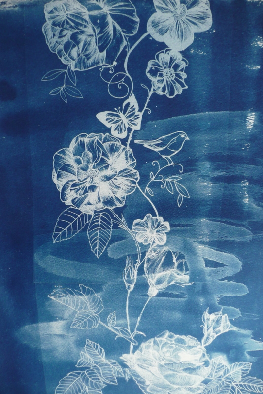 Heulwen loves experimental cyanotypes one of my drawings exposed onto bockingford paper malvernweather Image collections