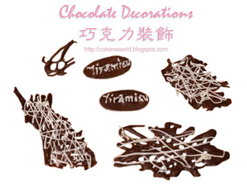 Chocolate Decorations