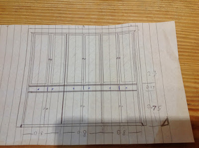 Bespoke drawings for furniture