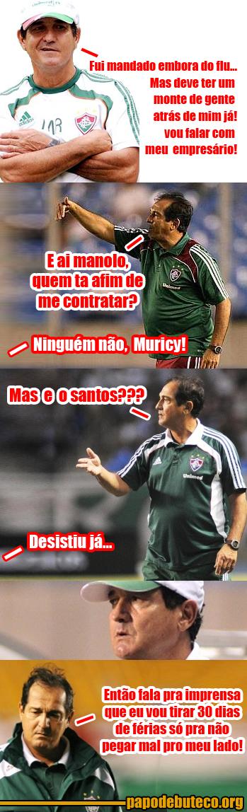 Muricy sem clube, Muricy sai do Fluminense