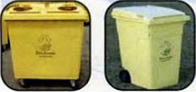Los envases de la basura (contenedor amarillo)